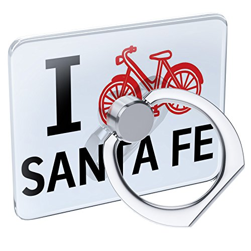 (Cell Phone Ring Holder I Love Cycling City Santa Fe Collapsible Grip & Stand Neonblond)