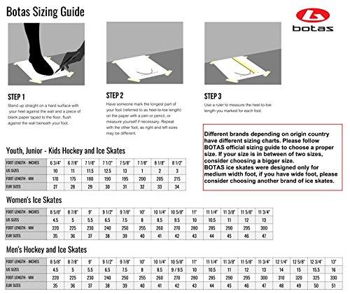 Botas - Draft 281 - Men's Ice Hockey Skates | Made in Europe (Czech Republic) | Color: Black