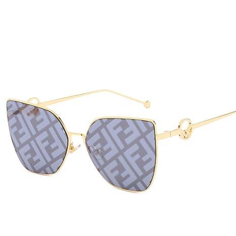 Yangjing-hl Gafas de Sol Tendencia Personalidad Gafas de Sol ...