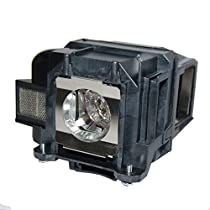 AuraBeam Economy Epson ELP LP88 Projector Replacement Lamp with Housing