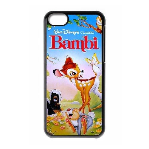 Bambi Ii 005 coque iPhone 5c cellulaire cas coque de téléphone cas téléphone cellulaire noir couvercle EOKXLLNCD26510