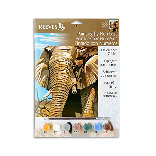 Elephant Paint By Number Set