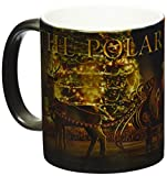 Morphing Mugs Polar Express (Sleigh Ride with Santa) Ceramic Mug, Black