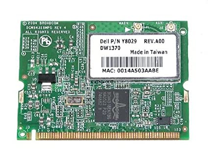 BROADCOM 54G DRIVER DOWNLOAD