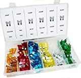 120 Pc Assorted Car Fuse Auto Trucks Suv`s Replacement Fuses Regular Size Blade