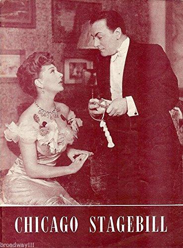 Gertrude Lawrence'PYGMALION' Dennis King/Bernard Shaw 1947 Chicago Playbill