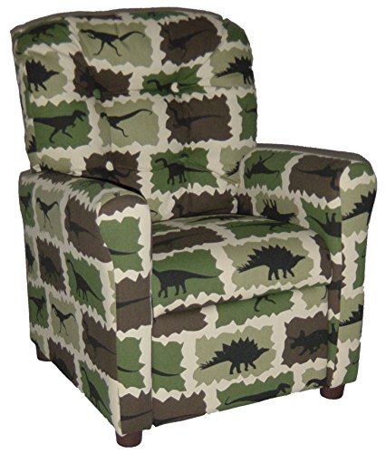 Brazil Furniture 400 Children's Button Back Recliner, Rex...