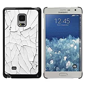 Exotic-Star ( Paint White Shabby Rusty Wall ) Fundas Cover Cubre Hard Case Cover para Samsung Galaxy Mega 5.8 / i9150 / i9152