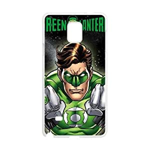 Green Lantern Power Up Samsung Galaxy Note 4 Cell Phone Case White Delicate gift AVS_625597