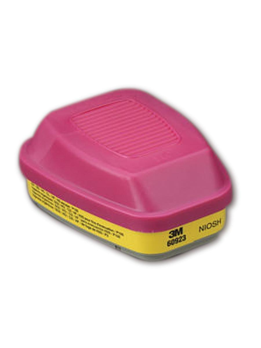 Cartridge/Filter 60923, Organic Vapor/Acid Gas/P100 by 3M