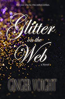 Glitter on the Web by [Voight, Ginger]