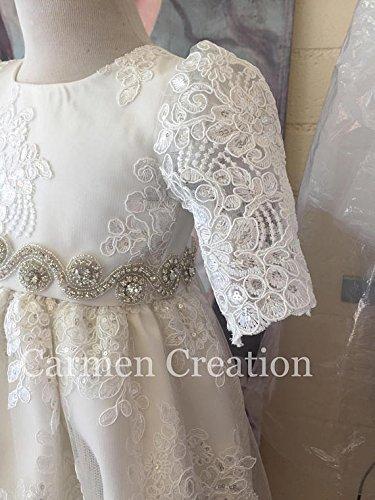 Venetian Baptism Gown by Carmen Creation