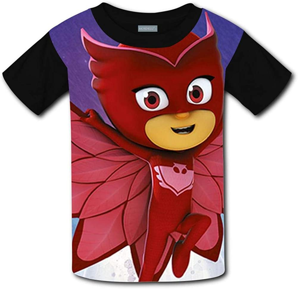 Judith Wordsworth Childrens T-Shirt Pj-Ma-SKS Unisex Kids 3D Printing Short Sleeve tee