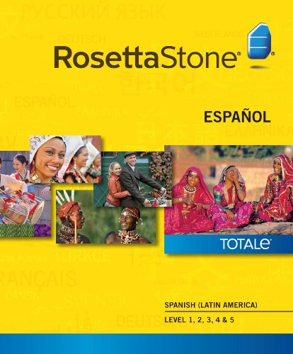 Rosetta Stone Spanish  Level 1-5 Set