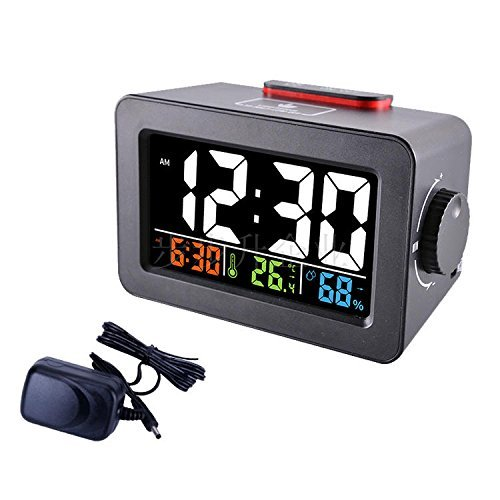 HOMEE Clock-multifunctional creative alarm clock personal bedroom bedside luminous clock can charge your mobile phone,B by HOMEE
