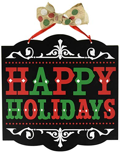 amscan decoration241596 Happy Holidays Medium Sign, 12