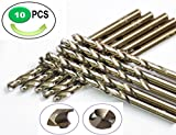"""Best Inch Drills - Max-Power 10pcs Pack 3/16"""" Inch High Speed Steel Review"""
