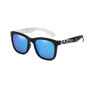 YQQ-Gafas de sol Polarizadas Gafas De Sol Retro Gafas para Hombres Gafas De Sol