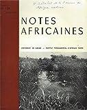 img - for Notes Africaines Universit  de Dakar - Institut Fondametal d'Afrique Noire N  139 Juillet 1973 book / textbook / text book