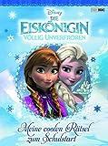 Disney Die Eiskönigin: Schulstartblock: Meine coolen Rätsel zum Schulstart