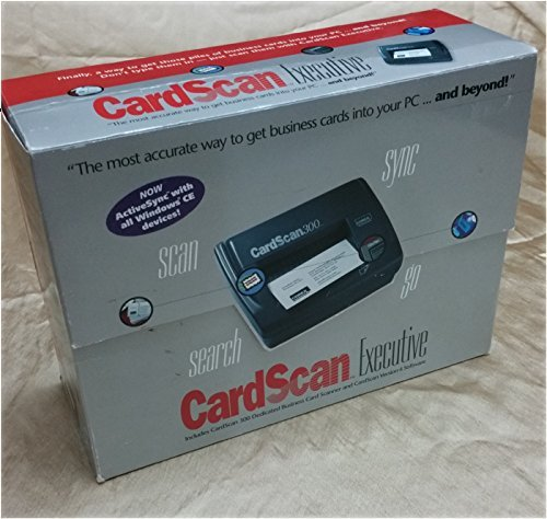 CardScan Executive - Includes CardScan 300 & Version 4 Software
