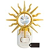 24K Gold Plated Crystal Studded Childrens Night Light with LED Bulb by Matashi (Sun, Multi-Color LED Bulb) Review