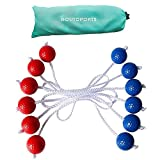 Goutosports Replacement Ladder Toss Balls for Ladder Toss Game with Real Golf Ball
