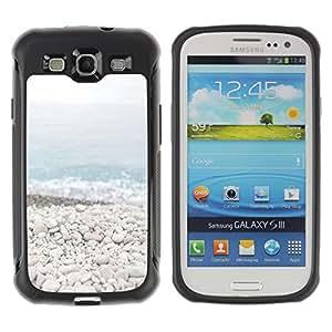 iArmor / Beach Stones Waves Blue Sea Horizon / Samsung Galaxy S3 I9300