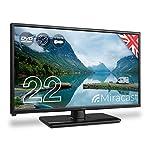 Cello-C2220FMTR-12v240v-22-Traveller-Caravan-TV-Freeview-HD-DVD-Miracast