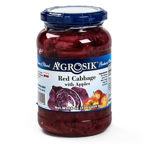 A Grosik Red Cabbage Apple, 16 - Red Apple Cabbage And