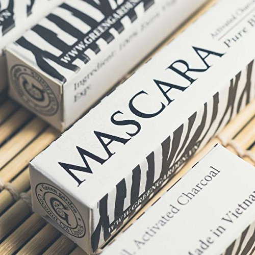 Green Garden Coconut Mascara - 0.35 ft oz - with Activated Charcoal - Ysl Waterproof Mascara