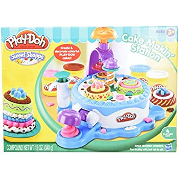 Play Doh Cake Making Station Playset