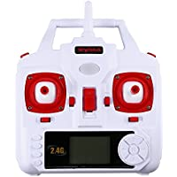 Dayan Anser FPV Wifi IOS & Android Aerial Quadcopter Syma X5HW Automatic Air Pressure High 2.4Ghz 6CH 6Axis With 0.3MP HD Camera 3D Flips function RTF RC (White)
