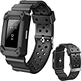 Lwsengme X4-TECH Replacement Sport Bands for Fitbit Charge 2,Classic Fitness Rugged Accessories Wristband for Fitbit Charge 2 HR(NO TRACKER)