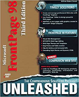 Microsoft FrontPage 98 Unleashed (Unleashed): William R