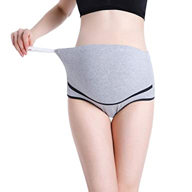 200cd4b98a67c Daxin Womens Cotton Maternity Panties Pregnant High Waist Adjustable  Underwear Underpant at Amazon Women's Clothing store: