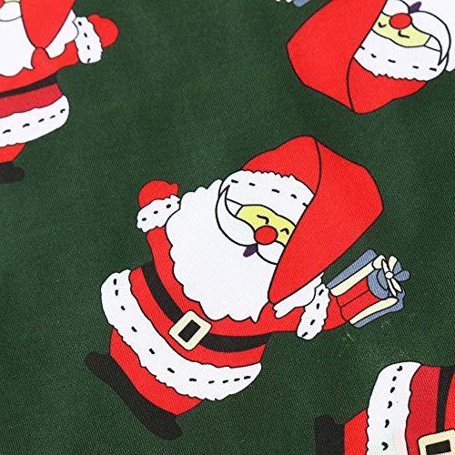GoodLock Clearance!! Baby Boys Girls Christmas Dress Toddler Kids Long Sleeve Cartoon Print Dress Clothes (Green, 18 Months) by GoodLock (Image #5)