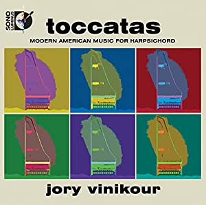 Toccatas: Modern American Music for Harpsichord (Blu Ray Audio + CD)