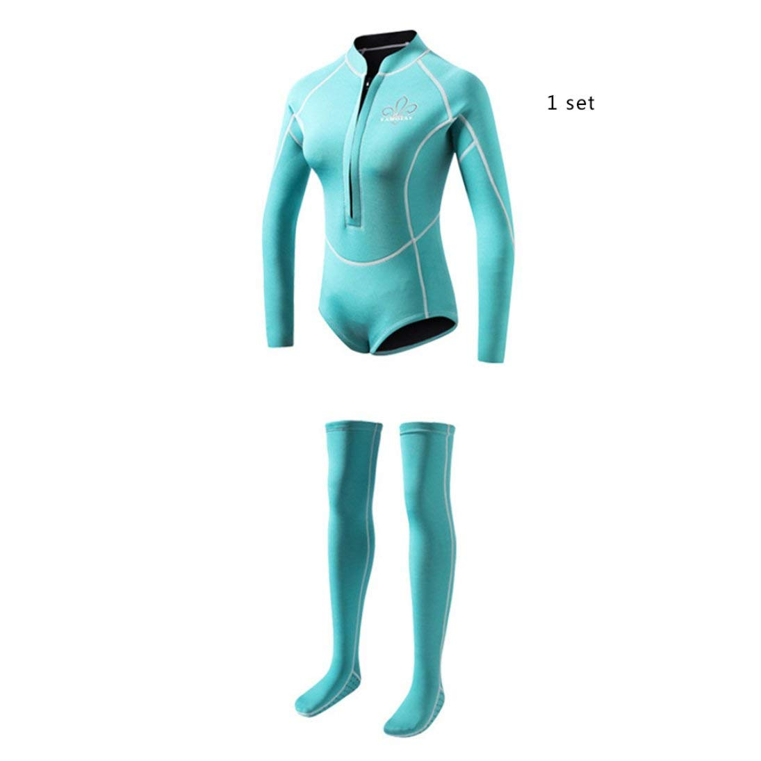 Stylelish-AUTO Diving Suit Neoprene Spearfishing Wetsuit Surf Swimsuit Split Diving Suits