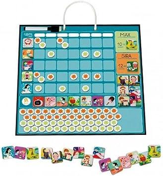 Tablón imantado de recompensas Juego educativo magnético para niños de 4 a 9 años: Amazon.es: Juguetes y juegos