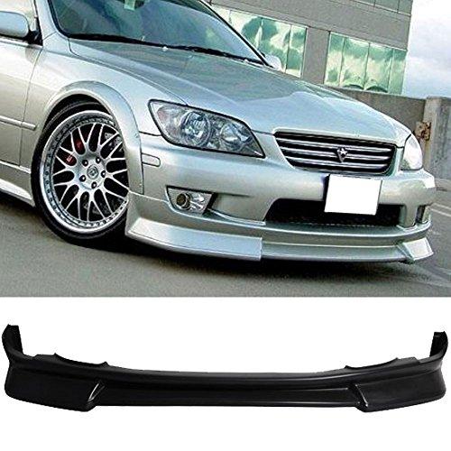 01-05 Lexus IS300 WD Style Urethane Black Add-On Front Bumper Lip Spoiler Bodykit