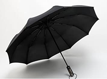 ZSSKY Doblez Automático Completo Para Paraguas Doble Extra Grande Tres Paraguas Plegable Adultos Hombres Y Mujeres