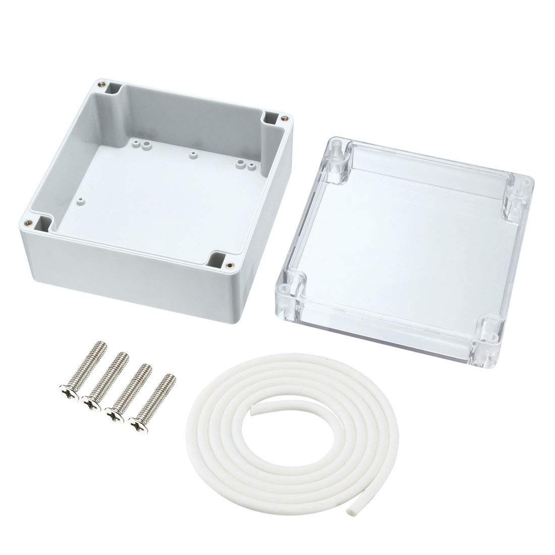Junction Box IP65 Universal Project Enclosure sourcing map 3.94x2.68x1.97 100mmx68mmx50mm