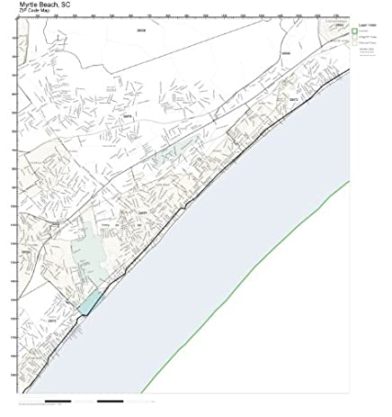 Amazon zip code wall map of myrtle beach sc zip code map not zip code wall map of myrtle beach sc zip code map not laminated sciox Choice Image