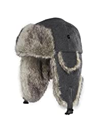 Chaos 11G3-2441 Men's Dylon Wool Blend Trapper Hat (Unisex)