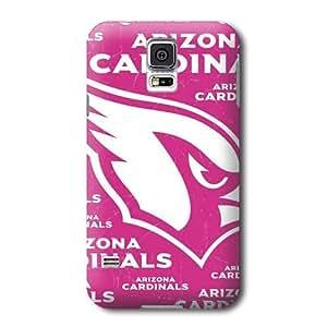 S5 Case, NFL - Arizona Cardinals Pink Blast - Samsung Galaxy S5 Case - High Quality PC Case