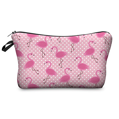 Pink Flamingo Accessories (Jom Tokoy Hakuna Matata Makeup Bag Travel Case Cosmetic Bag (Flamingo))