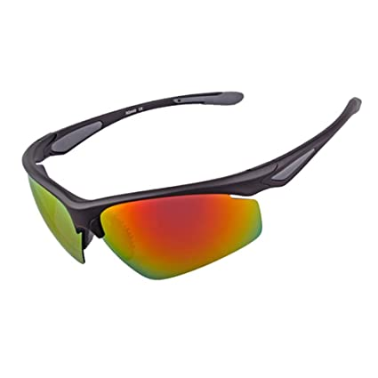 4d78cfb810 XUNQI And Woman Polarized Sunglasses Outdoor Sports Riding Soft Rubber Nose  Supports Ultralight Semi-Frame