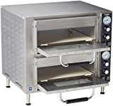 Waring Commercial Double Deck Pizza Oven, Silver