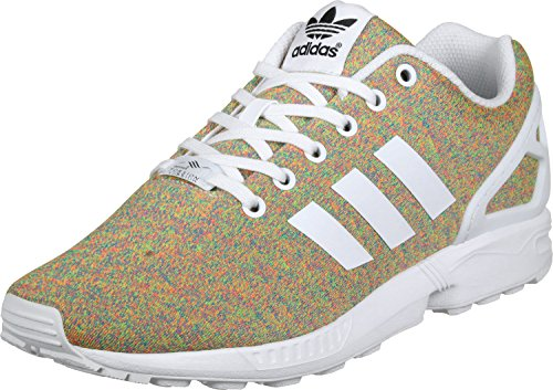 adidas Orange ZX Baskets Flux Vert Chiné Homme qzqTPv